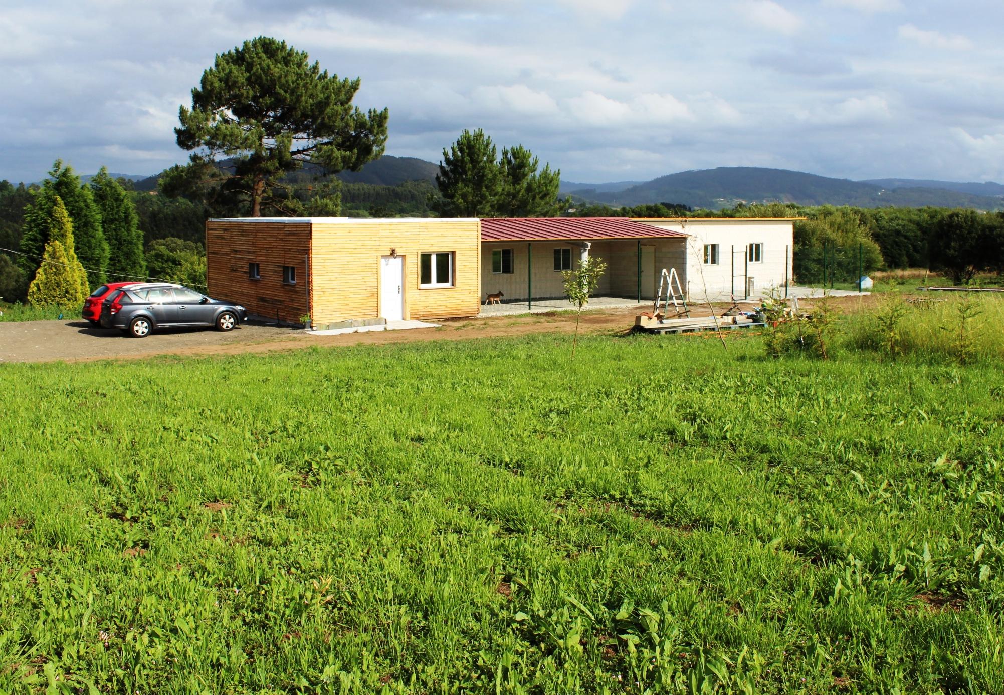 Exterior de la Residencia